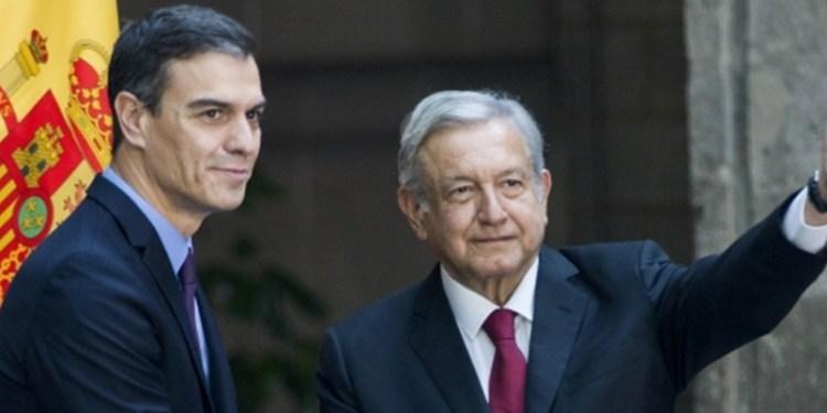 AMLO recibe al presidente de España en Palacio Nacional 1