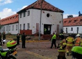 Coche bomba estalla en academia de policía de Colombia; hay 9 muertos 5