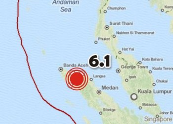 Sismo de 6.1 sacudió región de Indonesia 7