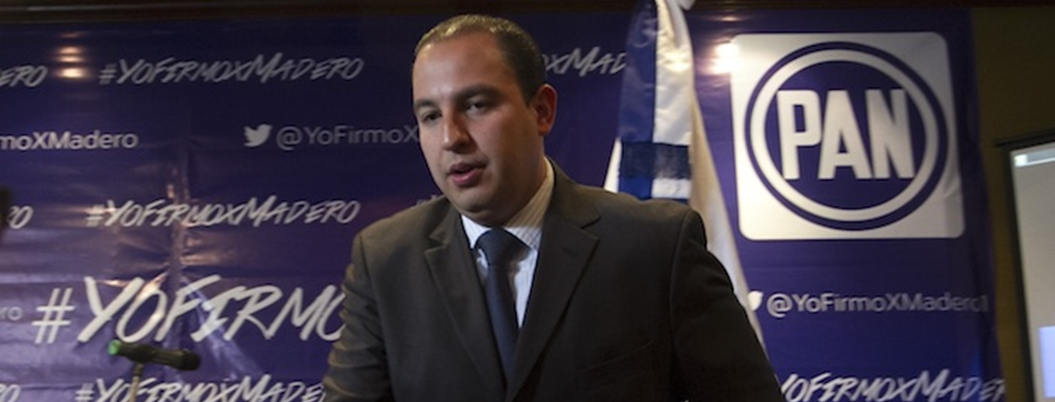 Marko Cortés propone un movimiento social para bloquear a AMLO