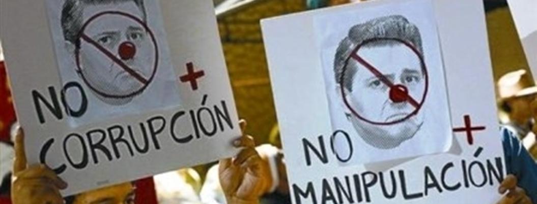 Peña dejó una epidemia de corrupción y nadie sabe cómo combatirla