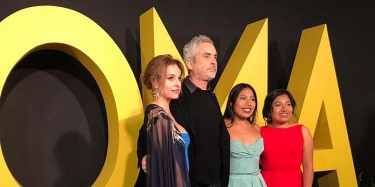 "Actores aplauden triunfo de ""Roma"" de Cuarón en Globos de Oro 1"