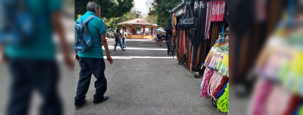 Incumple Toño Gaspar; siguen ambulantes en Centro de Chilpancingo