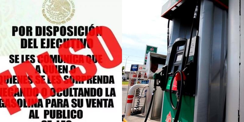 Profeco aclara falso mensaje sobre venta de gasolina en redes