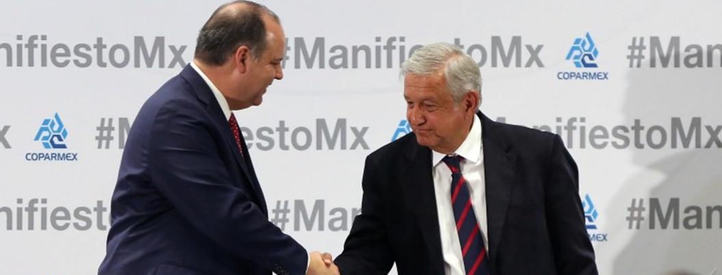 Coparmex aprueba combate a huachicol y austeridad en 100 días de AMLO