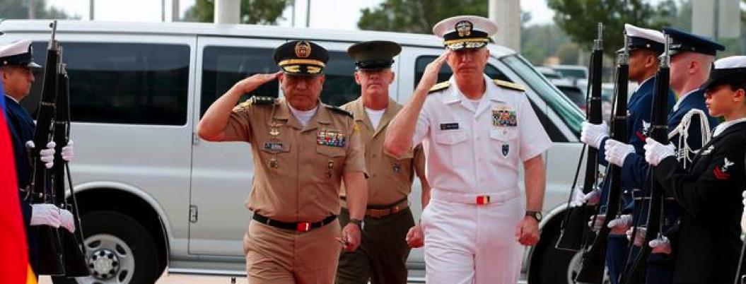 EU está preparado, advierte almirante al ejército de Venezuela