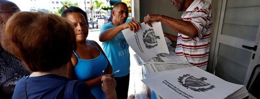 Cuba presentará este lunes resultado final de referendo constitucional