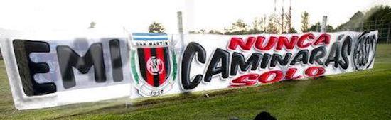 Velan cuerpo de Emiliano Sala en el Club San Martín del Progreso 1