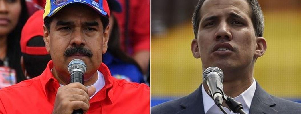 "Maduro llama ""mister payaso"" a Guaidó; lo reta a contender en elección"