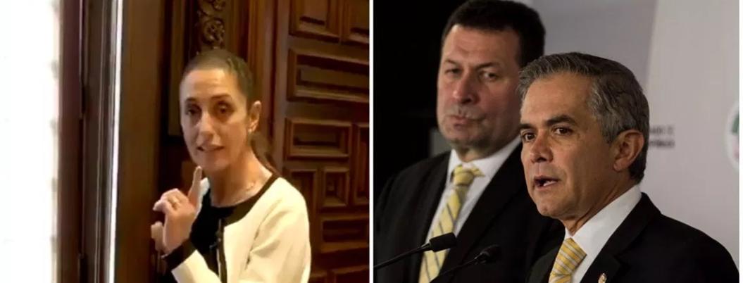 """Mancera abandonó a los ciudadanos frente al crimen"", señala Sheinbaum"