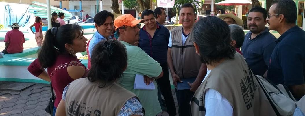 Servidores de la Nación denuncian falta de apoyos en Tierra Caliente