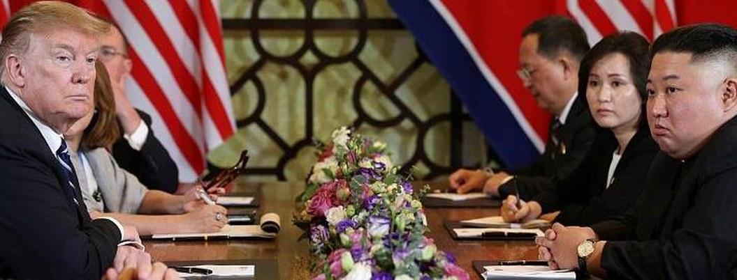 Cumbre Kim-Trump termina fracasada y sin acuerdos