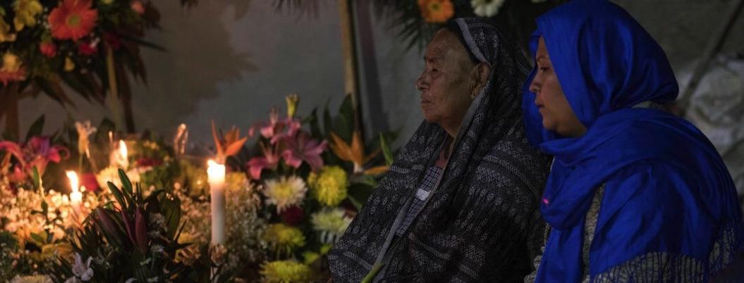 Dan último adiós al activista Samir Flores en Amalcingo, Morelos