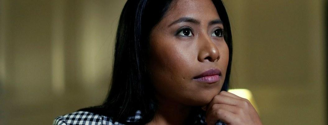 Yalitza Aparicio, maestra de Tlaxiaco que conoció el cine a los 15 años