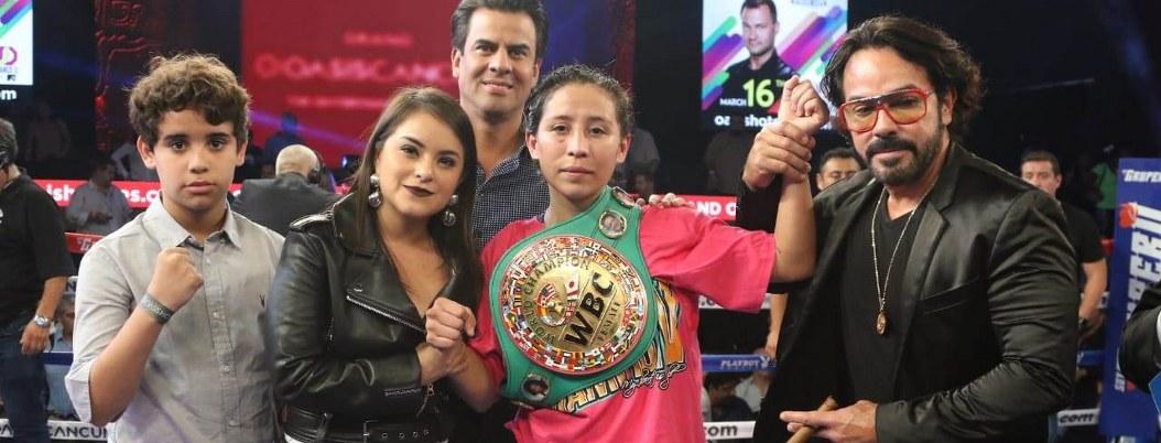 Mexicana vence a japonesa, se lleva título minimosca