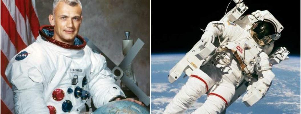 Bruce McCandless, el primer astronauta que flotó en el espacio