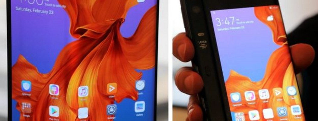 Mate X, el nuevo teléfono plegable de Huawei
