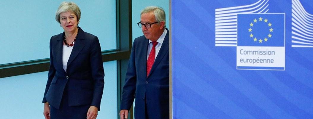 May se reunirá con jefe de la Comisión Europea para negociar Brexit