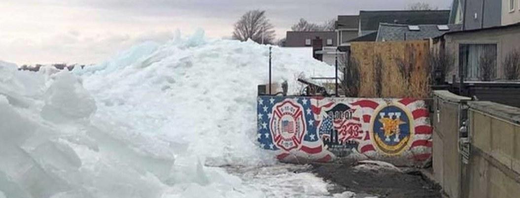 """¿Qué es el """"Tsumani de hielo"""" afecta el noreste de EU?"""