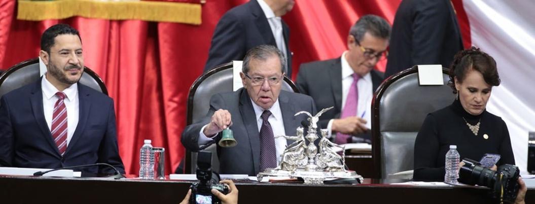 PAN exige que quiten a Muñoz Ledo de Mesa Directiva por bloqueos de CNTE