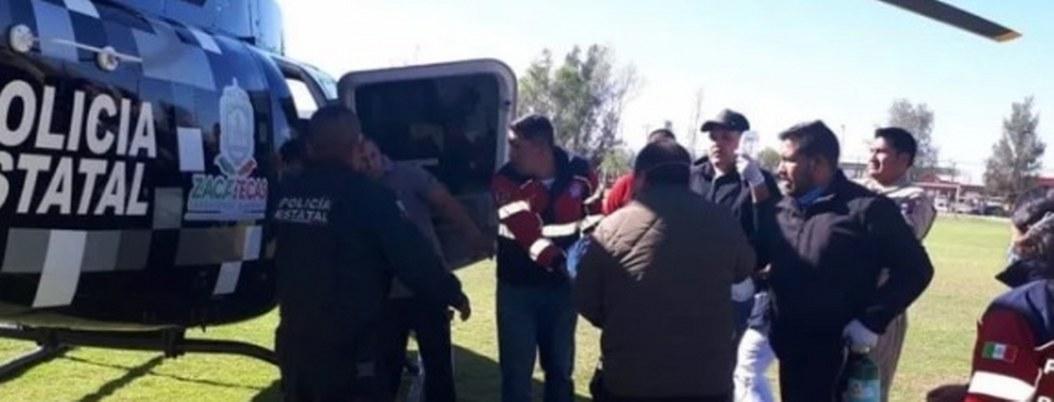 Hombres armados incendian casa en Zacatecas; hay 3 niños heridos