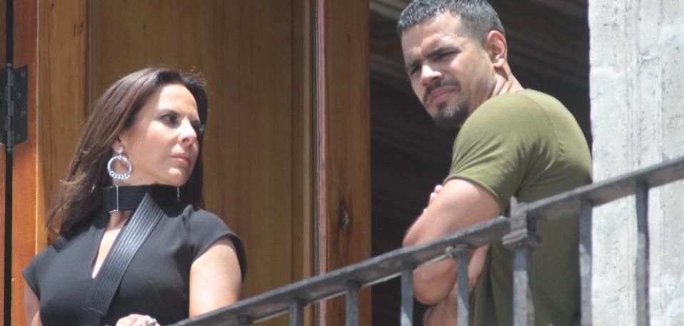 """Kate del Castillo filmó las últimas escenas de """"Bad boys"""" en México"""
