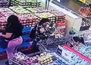 carteristas en supermercados