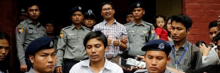 Periodistas de Reuters en cárcel de Myanmar ganan Premio Pulitzer