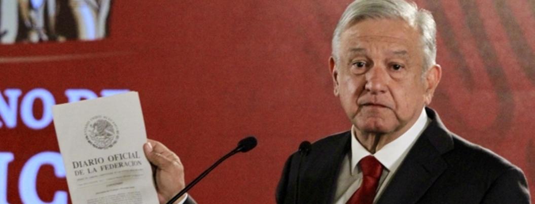 Diputados ya tienen el PND de López Obrador