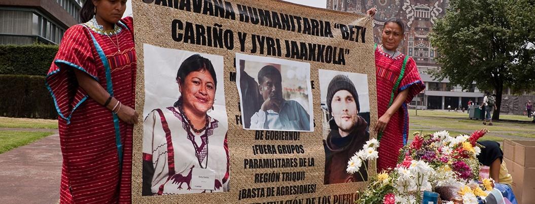 Suman cinco activistas asesinados en Oaxaca durante 2019