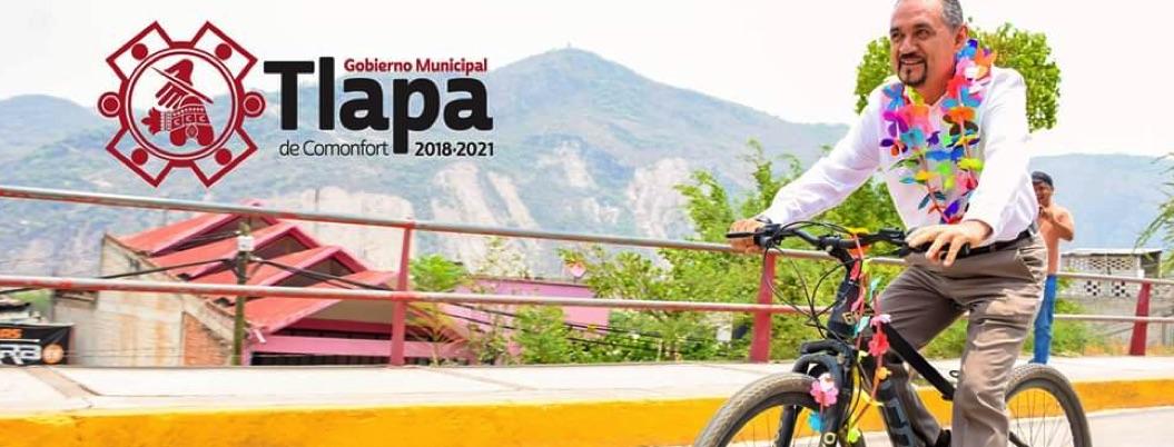 Alcalde de Tlapa promueve la bicicleta para revertir contingencia