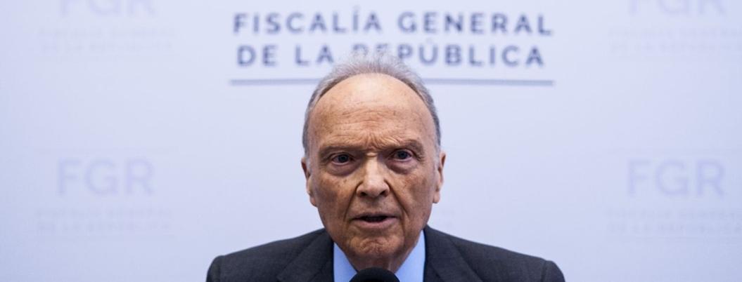 Gertz Manero destapó podredumbre de la PGR, pero no nombró a corruptos