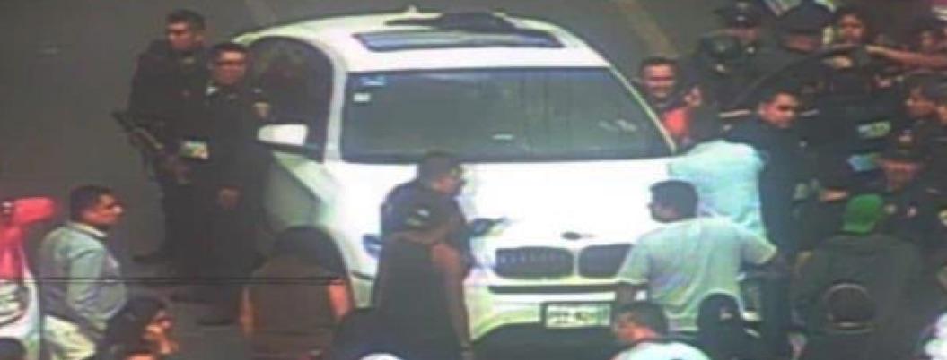 Arrebatan la vida a balazos a conductor de BMW en CDMX