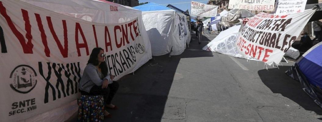 Maestros de Michoacán dejan sola a la CNTE: no se van a paro