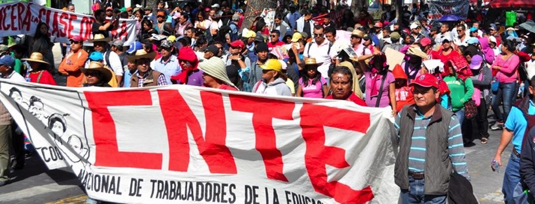 CNTE echa en cara a PF la represión que ejerció todos estos años