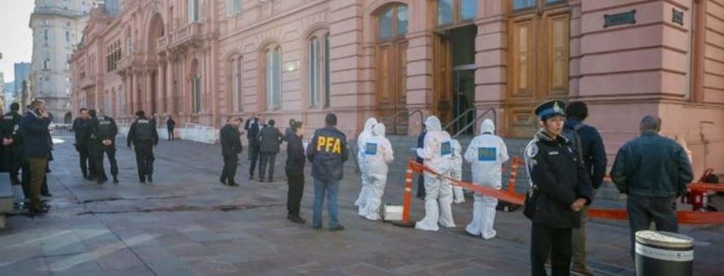 Presidencia y Congreso de Argentina dasalojados por amenaza de bomba