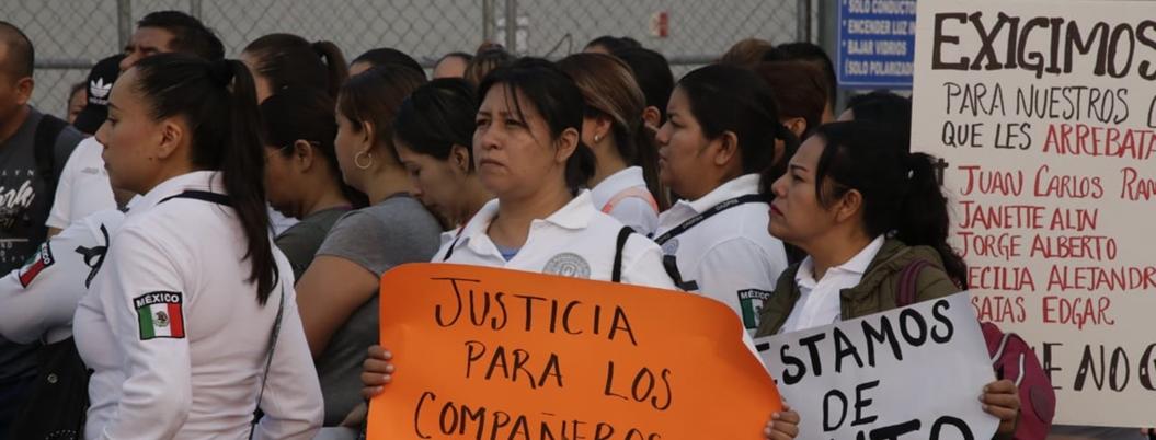 """""""No le importan nuestras vidas al gobierno"""": custodias de Morelos"""