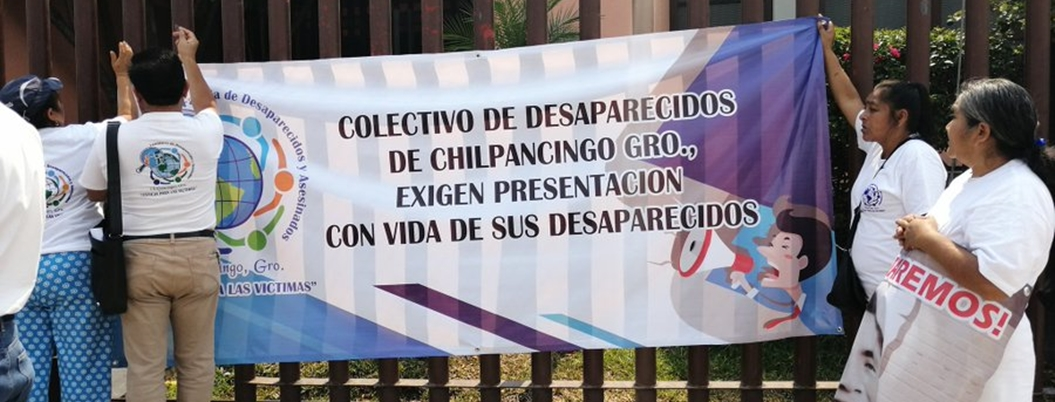Madres de desaparecidos exigen justicia en Guerrero