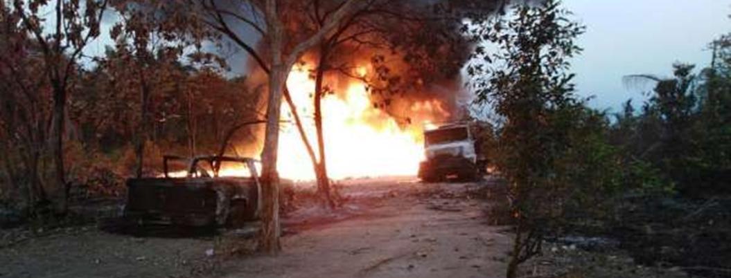 Huachicoleros mueren en explosión de ducto de Chiapas