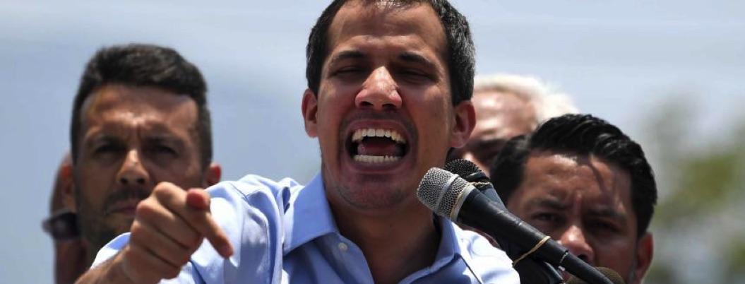 Pedir elecciones parlamentarias es cinismo, dice Guaidó a Maduro