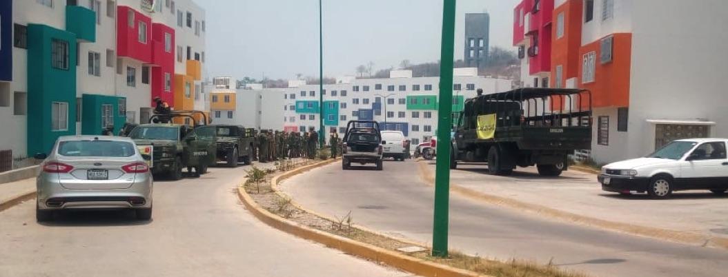 Activan plan DN-III por incendio en Chilpancingo; evacuan familias