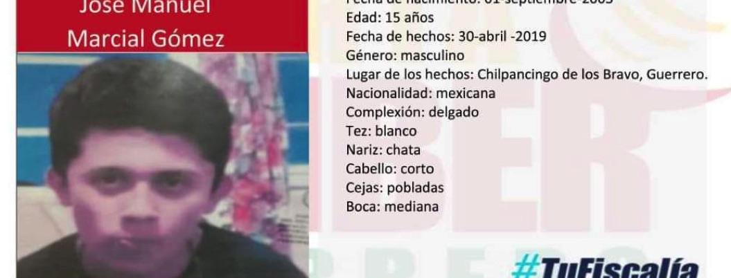 Marchan en Chilpancingo por estudiante de la UAGro desaparecido