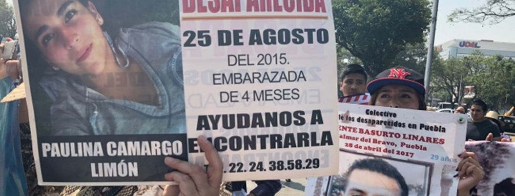 Madres de desaparecidos se disculpan por marcha en Puebla