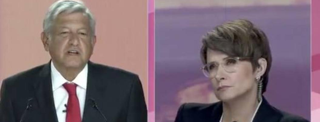 """""""Presidente, no mezcle buenos periodistas con chayoteros"""": pide Denise"""