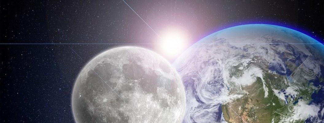 Luna se formó con materiales de la Tierra, según estudio