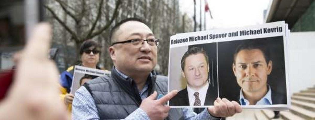 China formaliza arresto de 2 canadienses acusados de espionaje