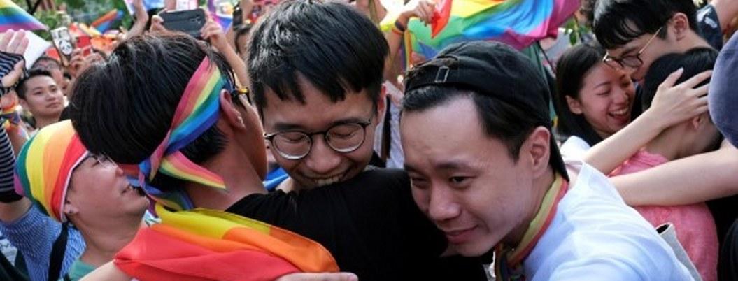 Taiwán, primer país de Asia en legalizar el matrimonio homosexual