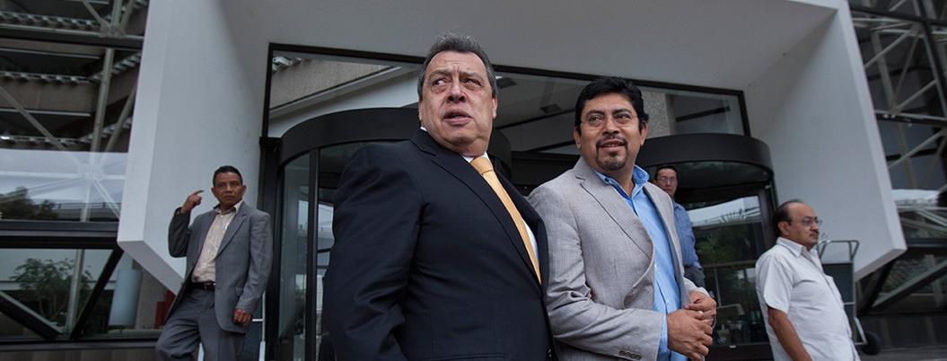 """""""Policías de Iguala cazaban a 'ayotzinapos"""": Aguirre Rivero"""