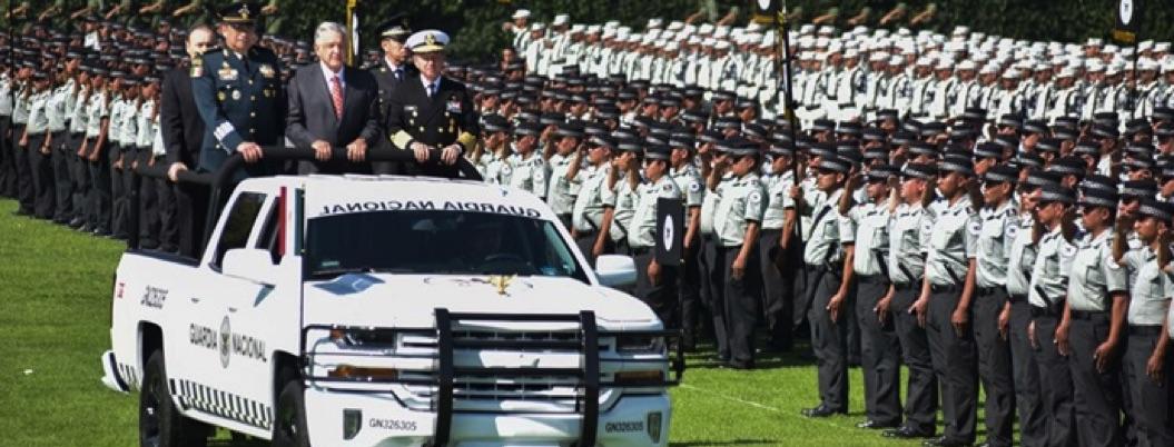 Guardia Nacional debe salvaguardar los derechos humanos, pide AMLO