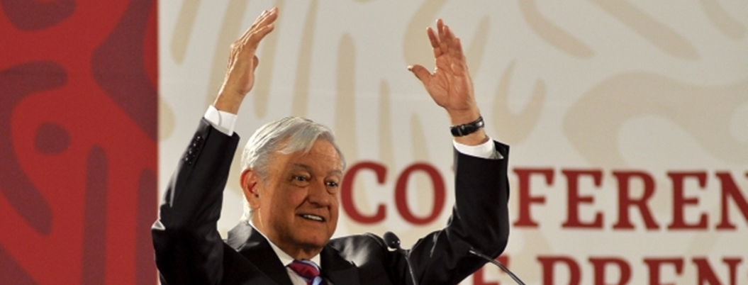 """Comunidad internacional respeta a México por migración"": AMLO"